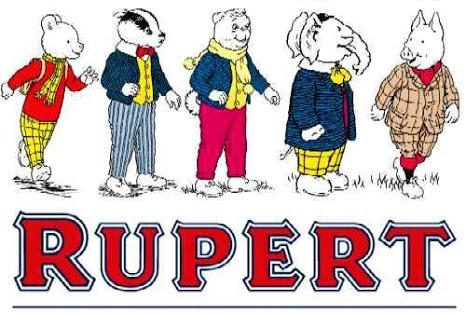 Resultado de imagem para Rupert desenho